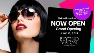 Beyond Vision Grand Opening Postcard