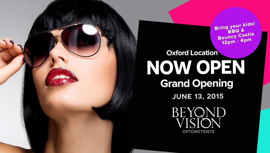 Beyond Vision Grand Opening Postcard