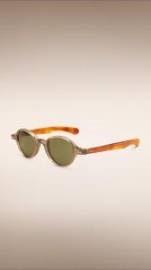 Round Burberry sunglasses